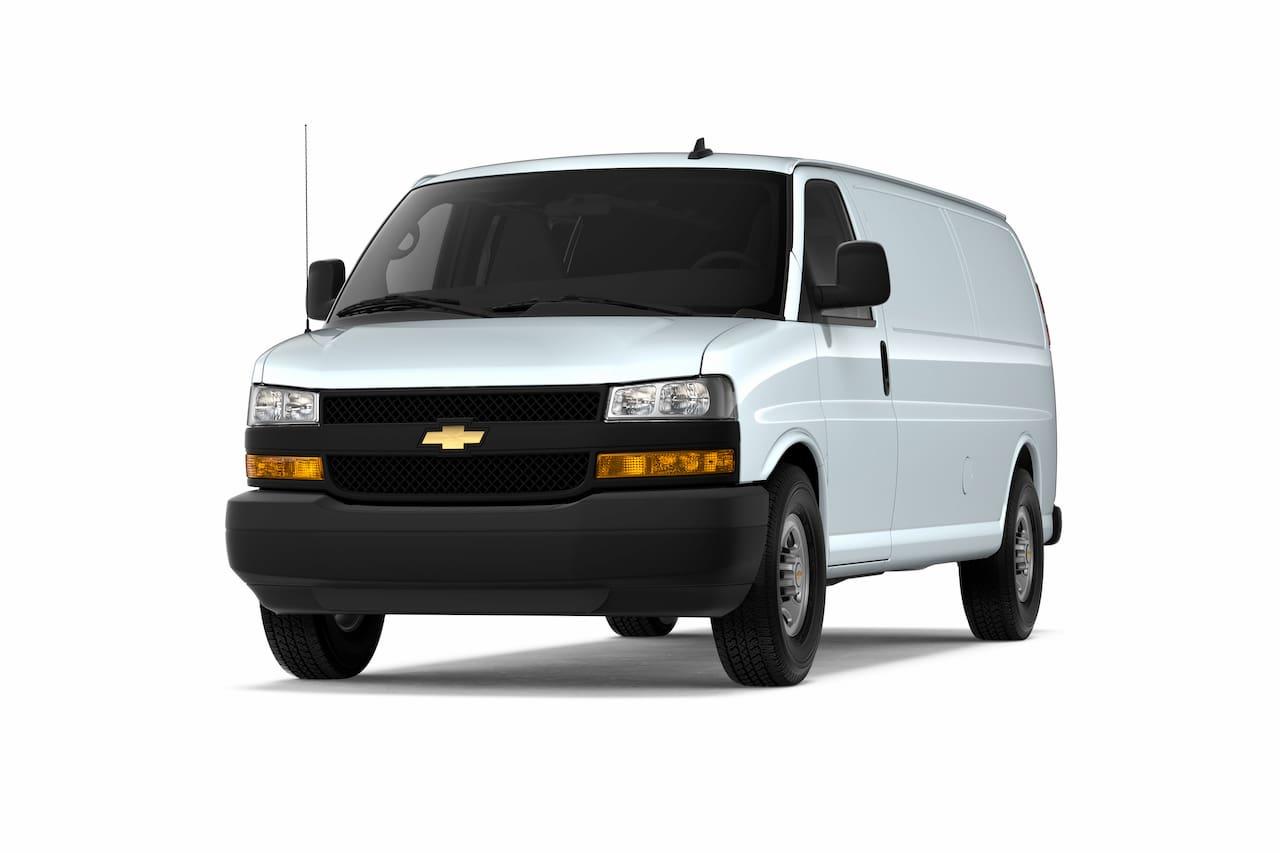 Chevrolet Express Cargo front three quarters