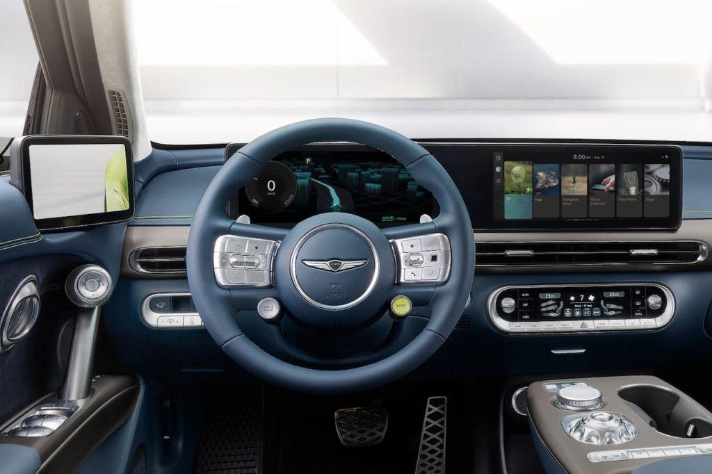 Genesis GV60 dashboard driver side