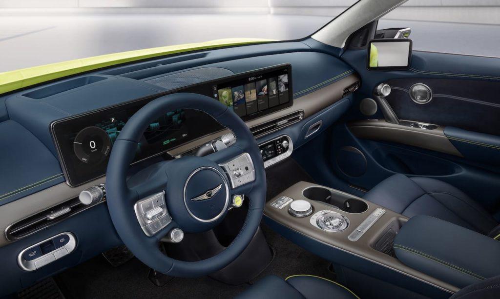 Genesis GV60 interior
