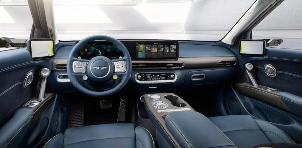 Genesis GV60 interior dashboard