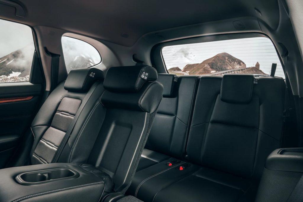 Honda CR-V 7-seat third-row seats