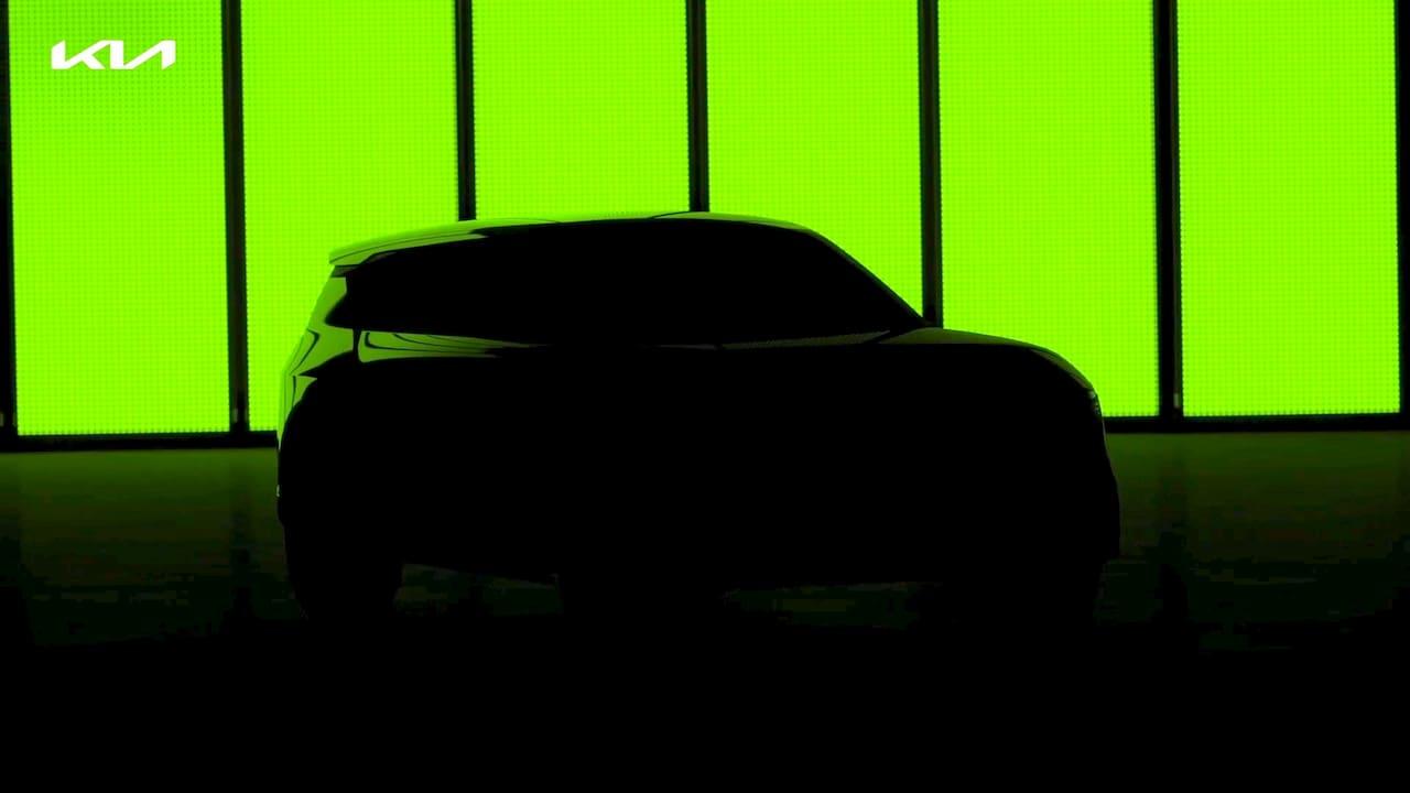 Kia EV4 teaser