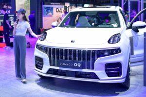 Lynk & Co 09 front 2021 Chengdu Motor Show