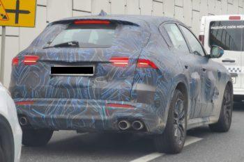 EV-ready Maserati Grecale spied up close, debuting in Nov 2021