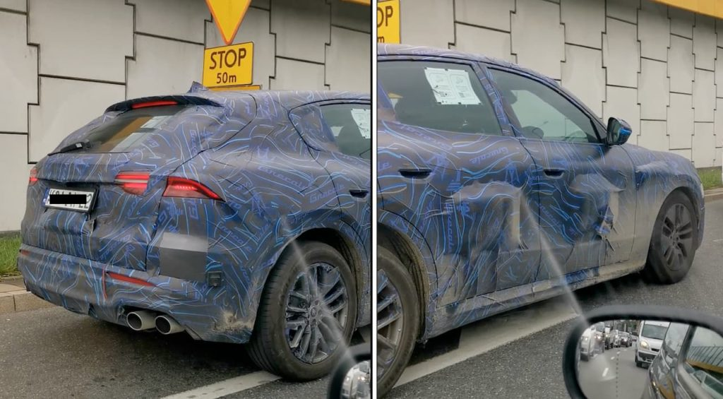 Maserati Grecale spyshot