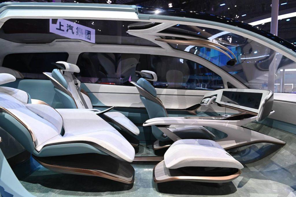 Maxus MIFA concept interior