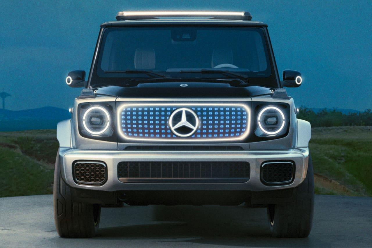 Mercedes EQG concept front