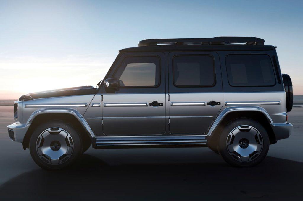 Mercedes EQG concept side profile