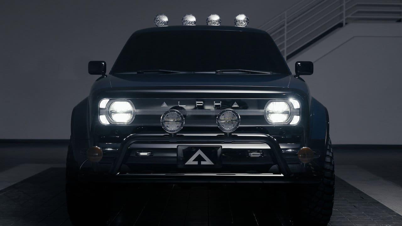 New Alpha Wolf front lights
