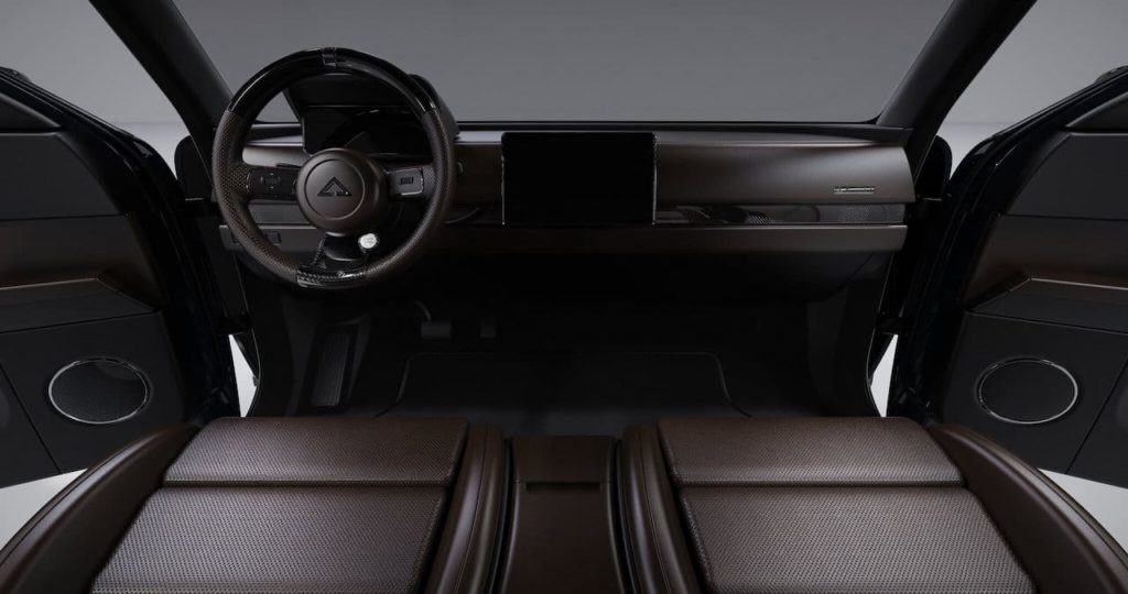 Alpha Wolf interior dashboard