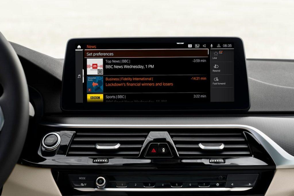 New BMW News app
