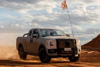 Next-gen Ford Ranger series could be hybrid, EV, or both [Update]