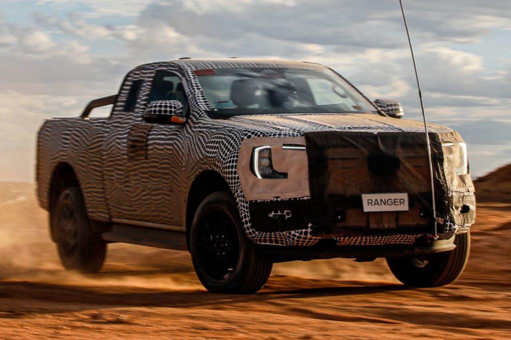 Next-gen Ford Ranger prototype