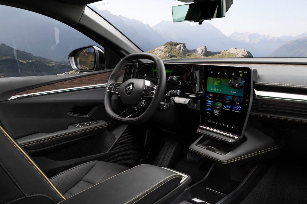 Renault Megane E-Tech Electric dashboard driver side