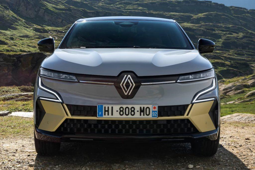 Renault Megane E-Tech Electric front