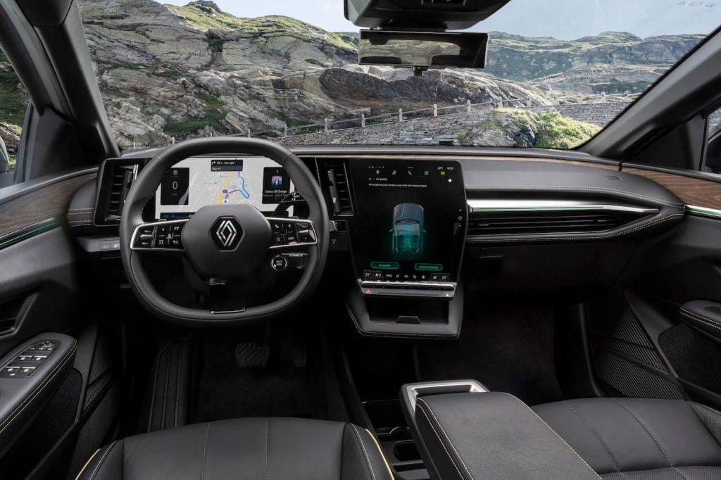 Renault Megane E-Tech Electric interior dashboard