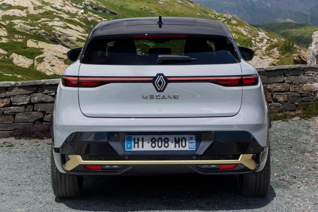 Renault Megane E-Tech Electric rear