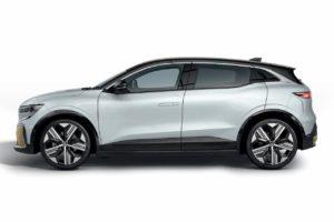 Renault Megane E-Tech Electric side profile