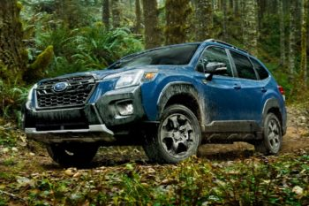 No hybrid option on the 2022 Subaru Forester in North America