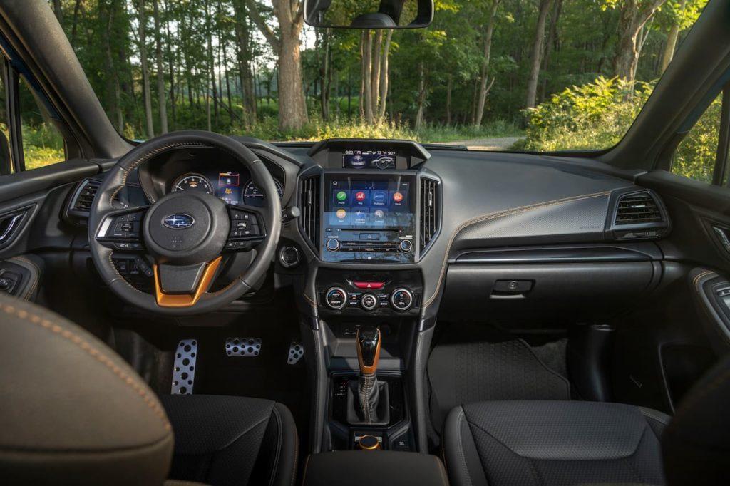 US-spec 2022 Subaru Forester interior dashboard