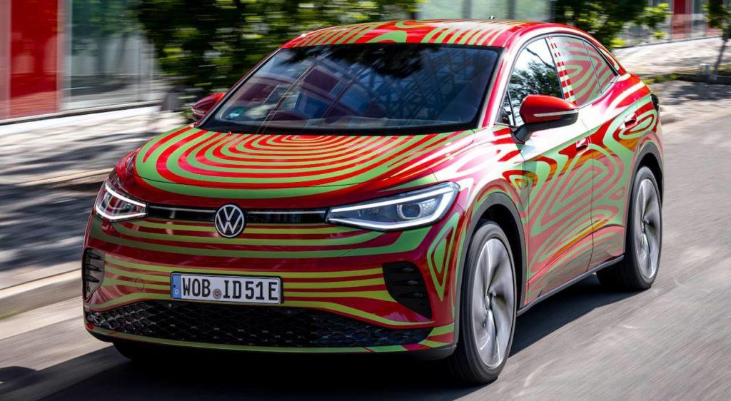 VW ID.5 GTX front