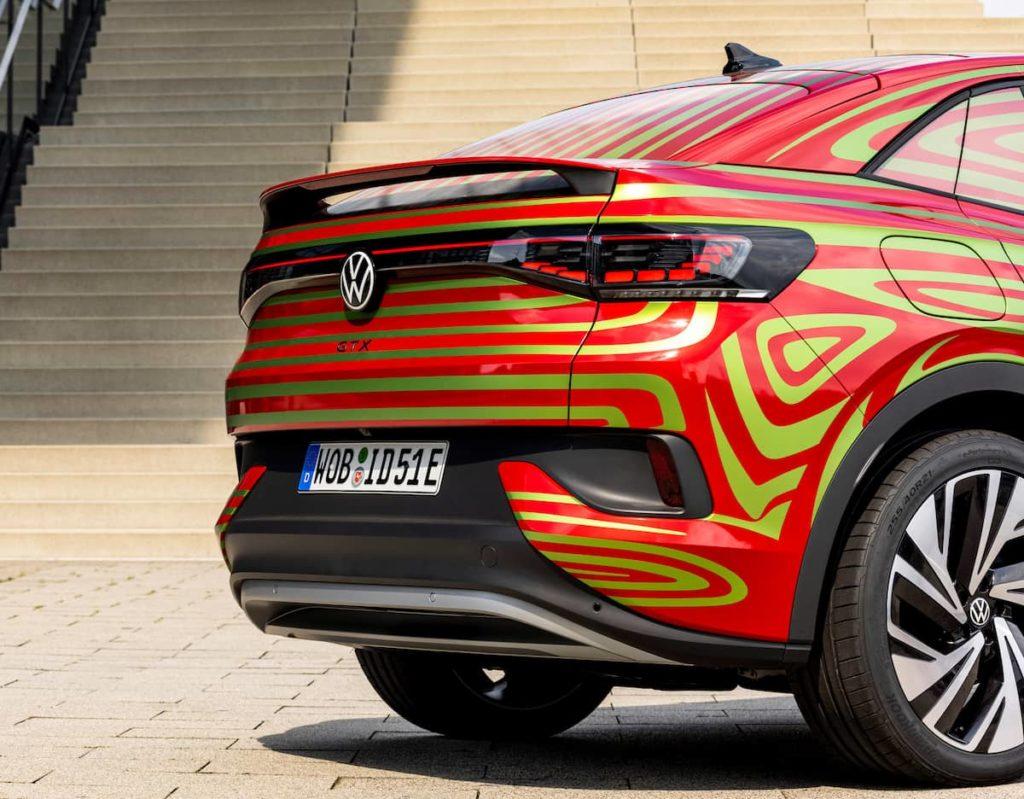 VW ID.5 GTX rear angle