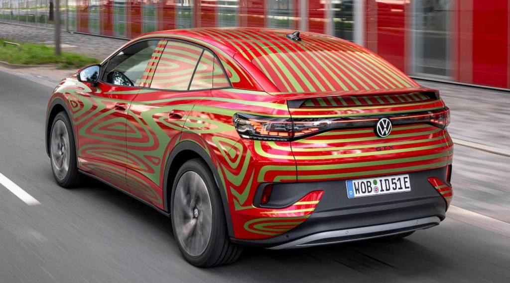VW ID.5 GTX rear look