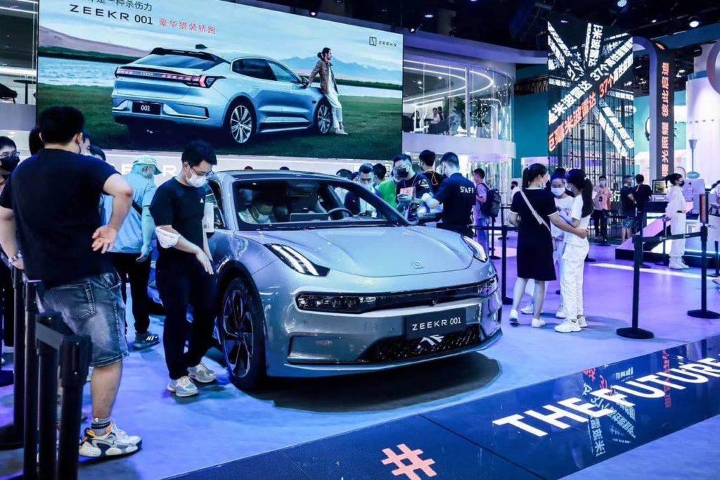 Zeekr 001 2021 Chengdu Motor Show