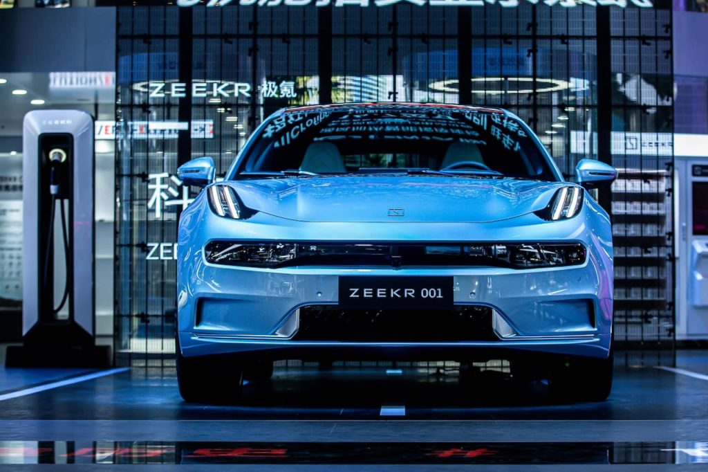 Zeekr 001 front 2021 Chengdu Motor Show