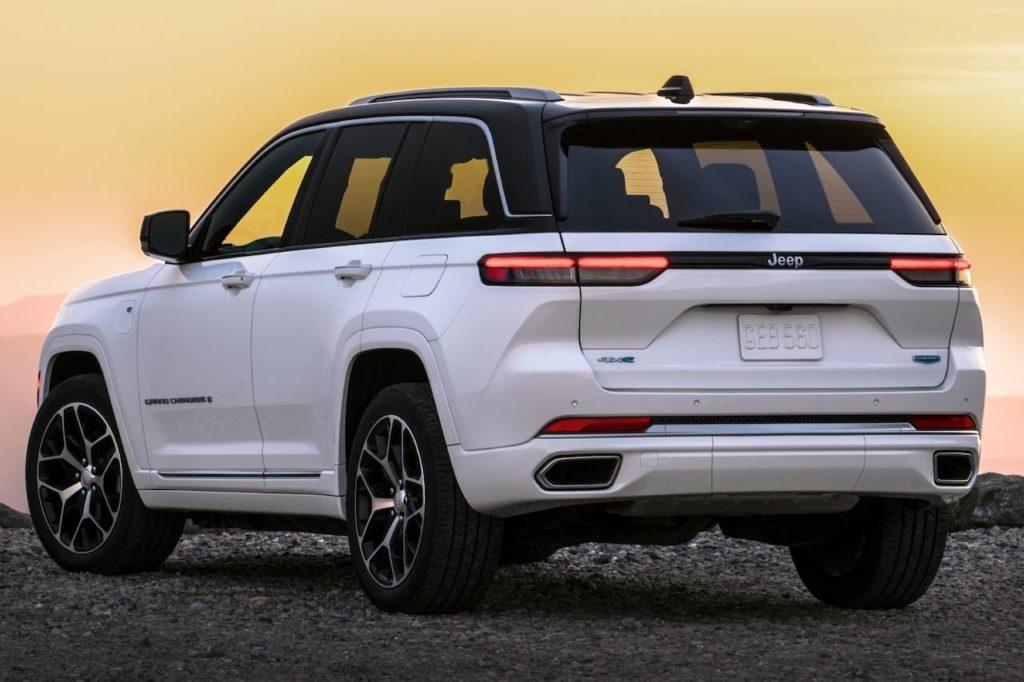 2022 Jeep Grand Cherokee 4xe Summit rear