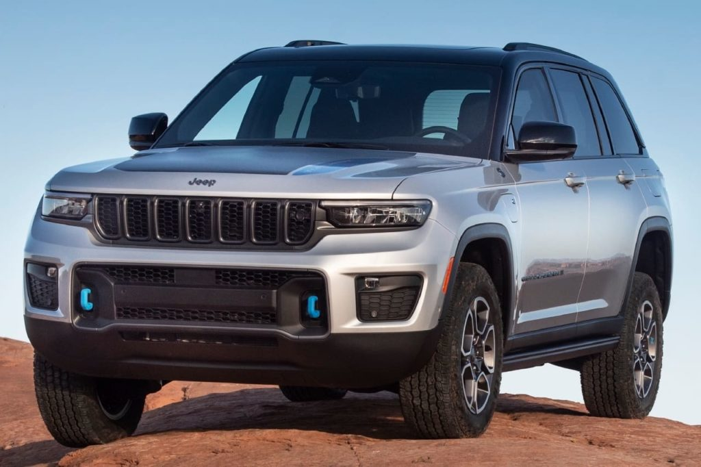 2022 Jeep Grand Cherokee 4xe Trailhawk front