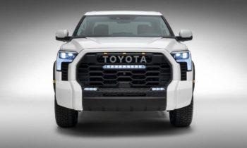 """World beater"" 2022 Toyota Tundra gets hybrid power"