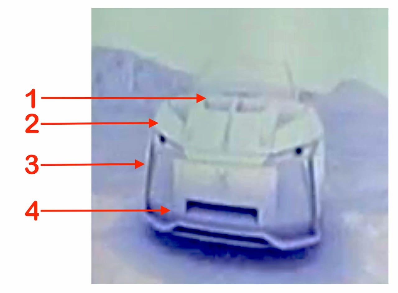 DS electric car teaser