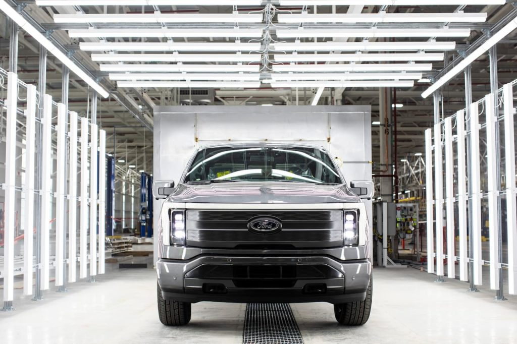 Ford F-150 Lightning front pre-production