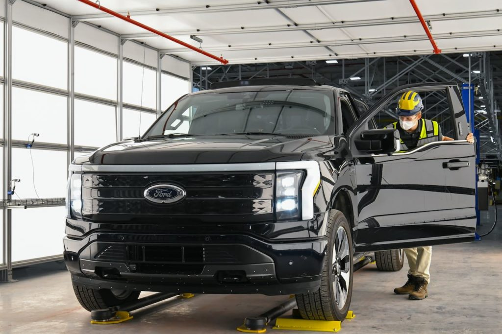 Ford F-150 Lightning pre-production Rouge
