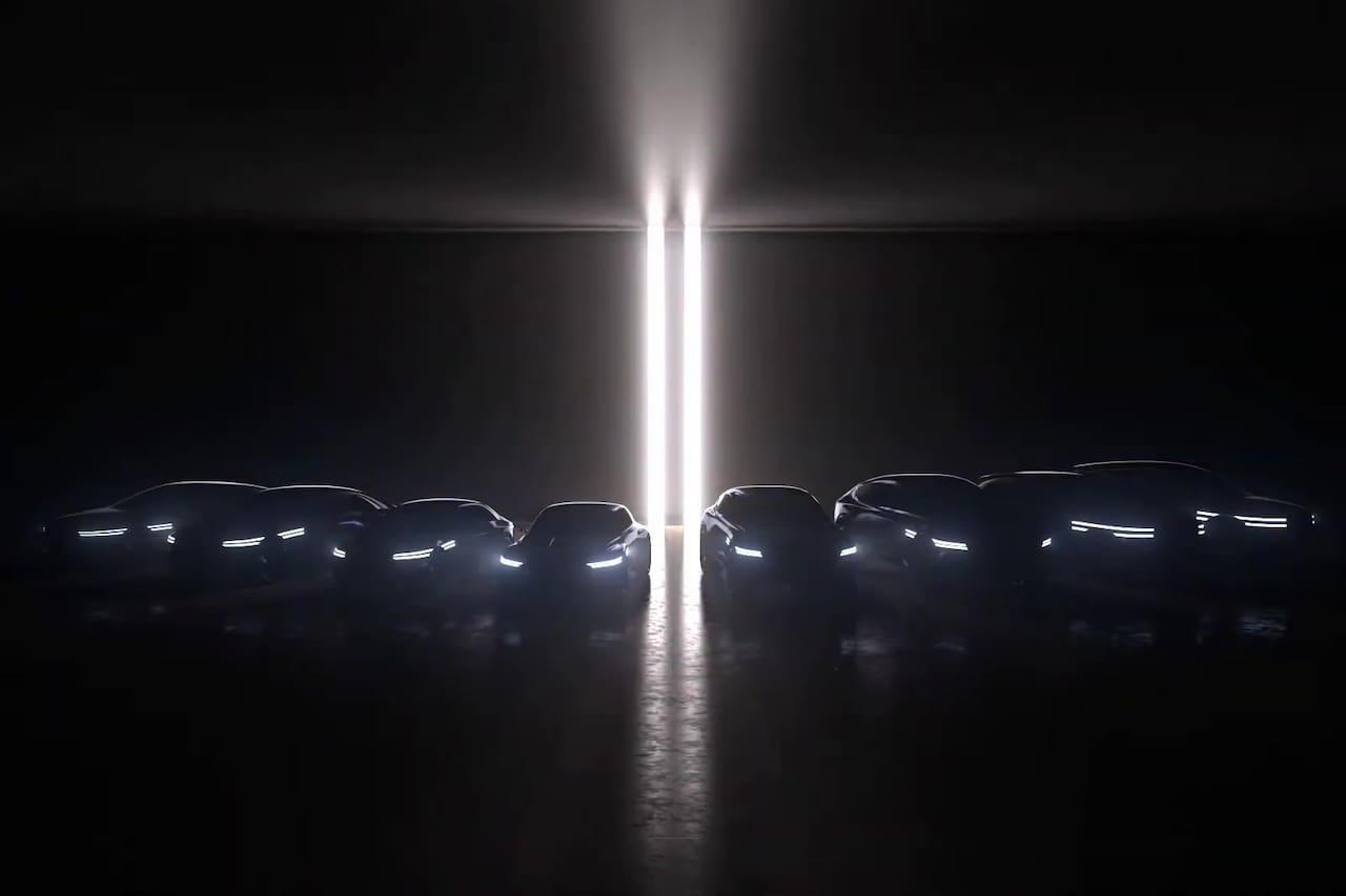 Genesis EV line-up teaser