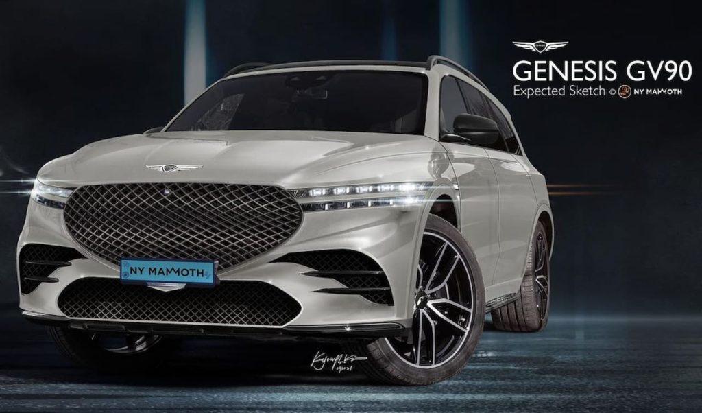 Genesis GV90 rendering