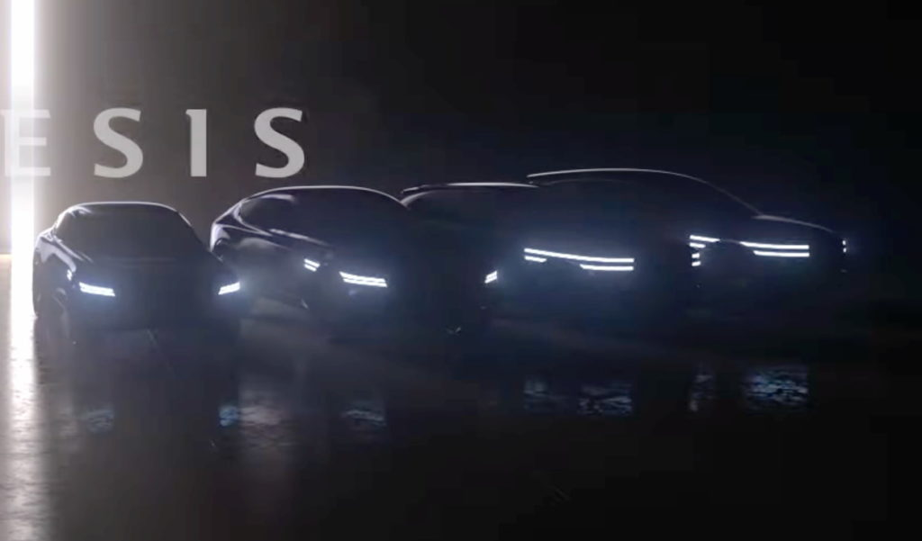 probable Genesis GV90 and other upcoming Genesis SUVs