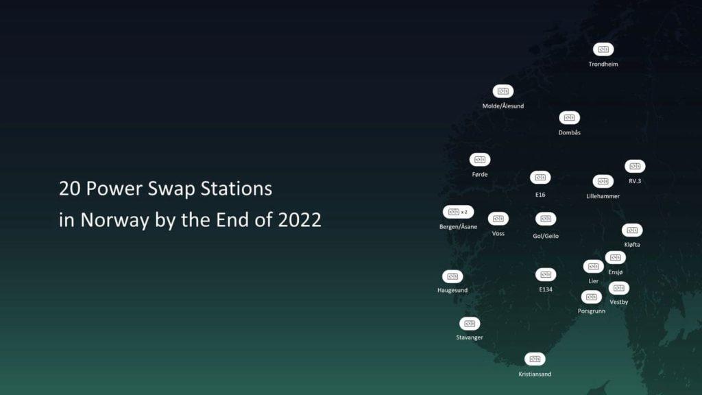 Nio Norway Power Swap Stations