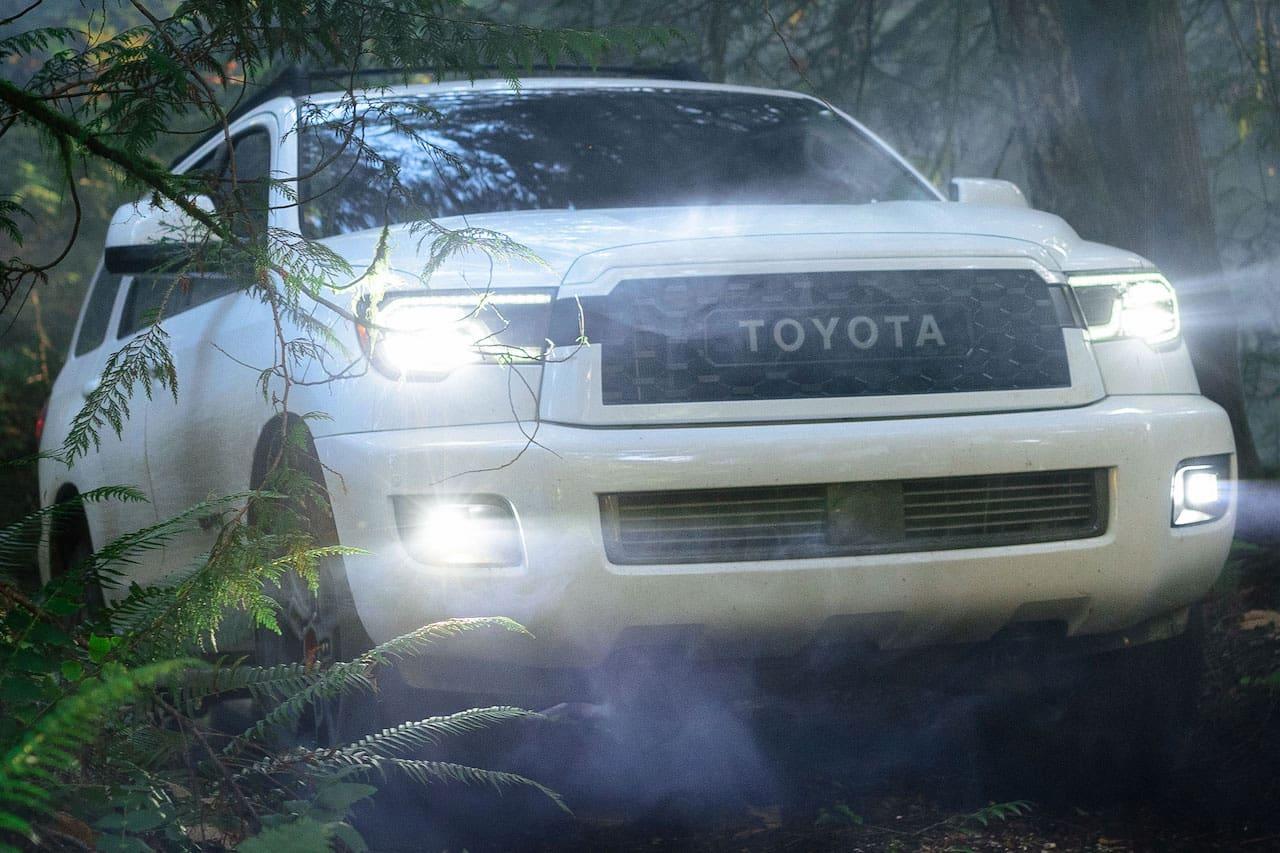 Toyota Sequoia front three quarters