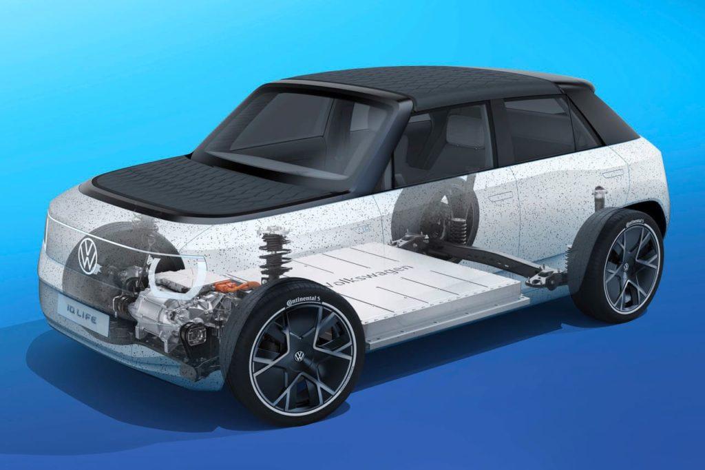VW ID. Life concept drivetrain