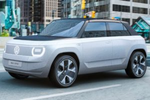 VW ID. Life concept front three quarters right side