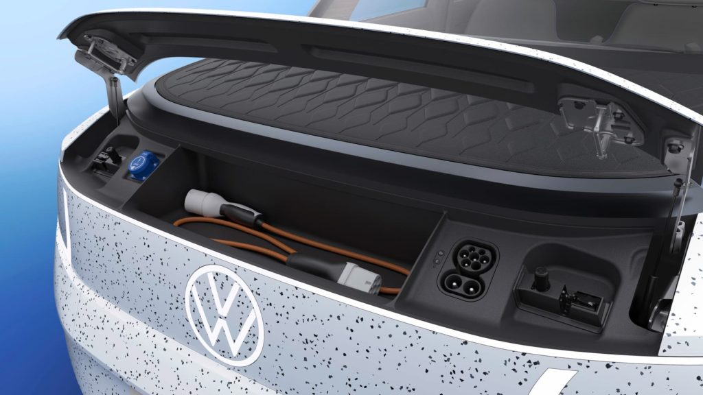 VW ID. Life concept frunk