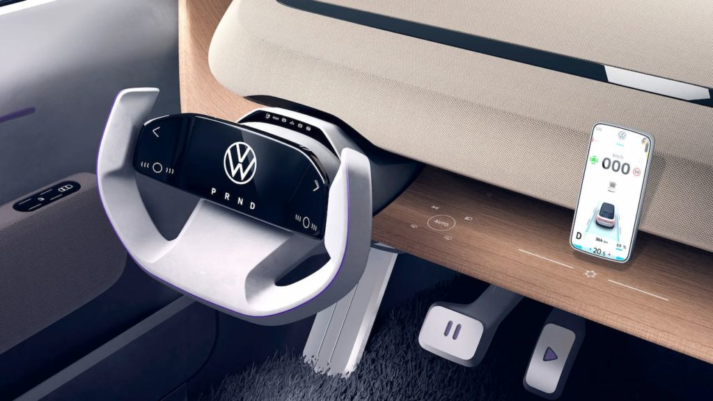 VW ID. Life concept interior dashboard driver side