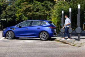 2022 BMW 2 Series Active Tourer PHEV charging