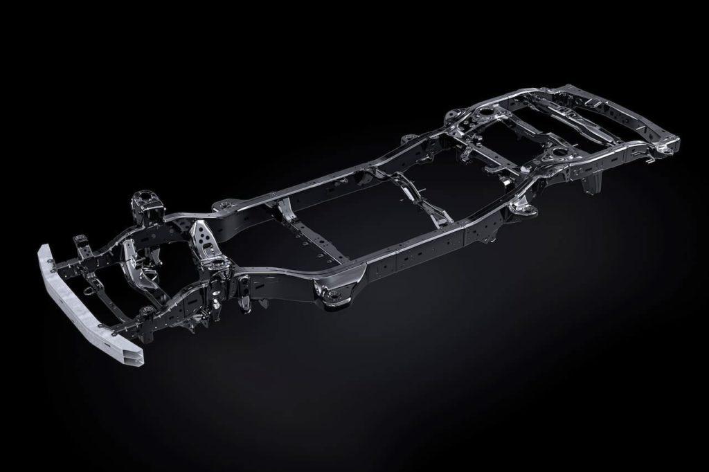 2022 Lexus LX TNGA-F platform GA-F platform