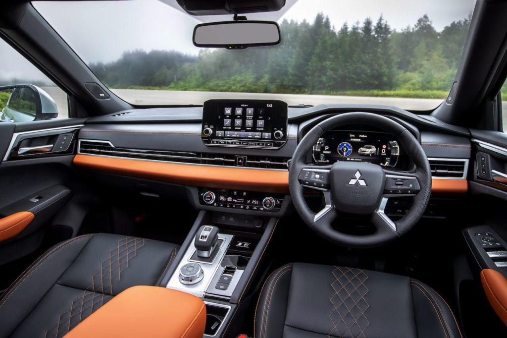 2023 Mitsubishi Outlander PHEV interior dashboard